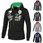 Trendy Youth Men Fashion Letter Logo Printed Long-sleeved Hoodie Sweater