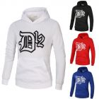 Trendy Men Fashion Chest Letter Printed Multi-color Long-sleeved Hoodie Sweater