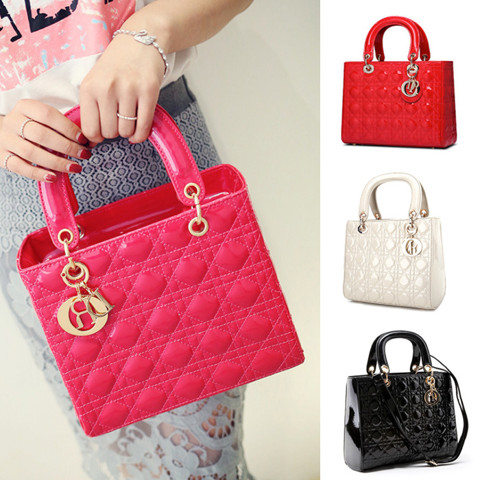 Cute Quilted Diamond Embossing Mini Shoulder Bag