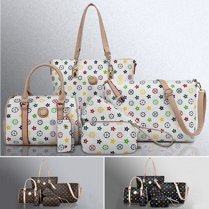 Luxury Design Bag /6pcs per Set