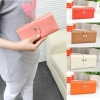 Candy Color Long Section Card Bag Wallet