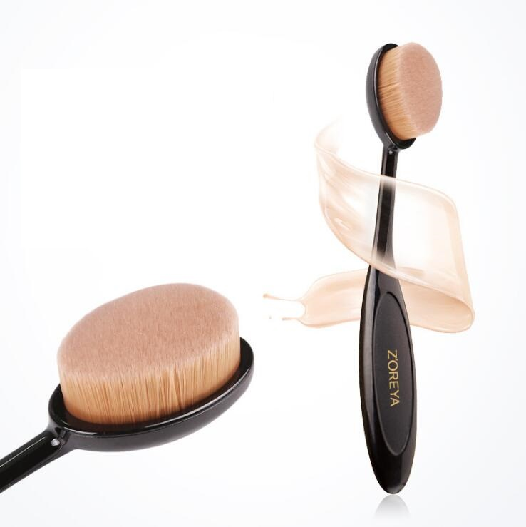 Beauty Makeup Tool Cosmetic Multi-functional Toothbrush Design Foundation Brush