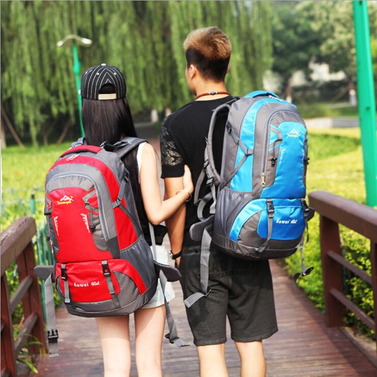 Large Capacity 60L Outdoor Travel Mountaineer Unisex Shoulder Backpack