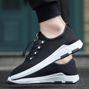 Sporty Comfy Korean Men's Fashion Breathable Light Mesh Sport Running Shoes