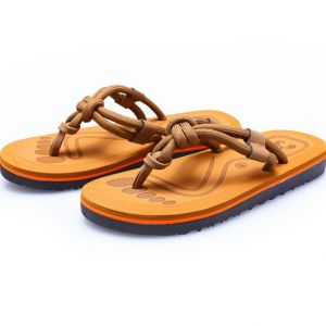 Creative Unique Men's Beach Wears Simple Leisure Clip-toes Slippers