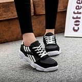 Korean Student Lace Stitching Color Thick Crust Muffin Casual Sports Running Shoes