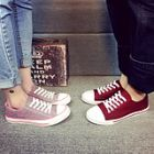 Casual Couple Flat Canvas Shoes