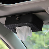 Car Interior Accessory Creative Hanging Paper Towel Tissue Leather Box