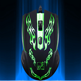 Cool Backlit Luminous Games USB Wired Mouse