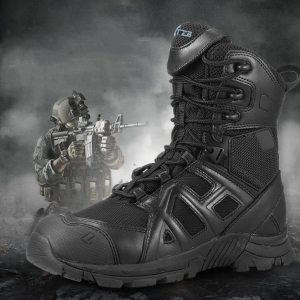 Male Commando Special Forces Military High-top Boots