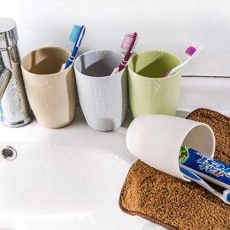 Creative Plastic Toothbrush Cup
