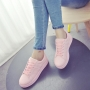 Charming Cute Candy Color Ladies Round-toe Thick Muffin Crust Casual Sport Sneaker