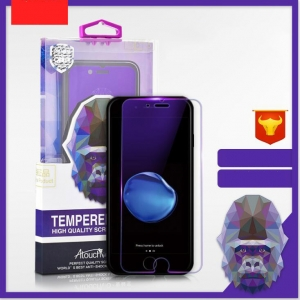 Iphone Half Screen Ultra-Thin Tempered Glass Violet Light Screen Protector