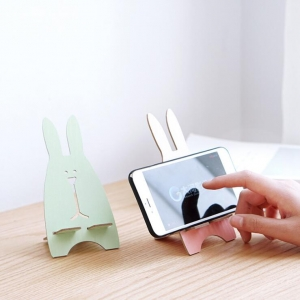 Creative Cute Rabbit Design Mobile Phone Holder