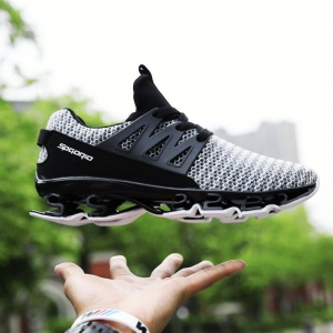 Men's Fashion Casual Trendy Breathable Cushioning Mesh Sport Shoes
