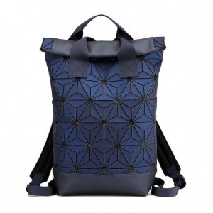 Unisex's Fashion Adidas Style Solid Color Lingge Pattern Design Large Capacity Waterproof Outdoor Travel Backpack