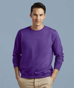 Men's Fashion Solid Color Round Neck Casual Long Sleeve Sport Sweater