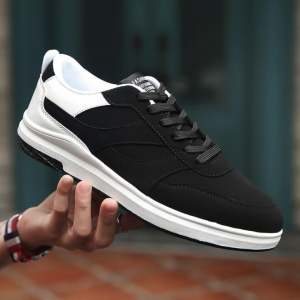 Korean Men's Fashion Round Head Breathable Wear-Resistant Non-Slip Casual Shoes